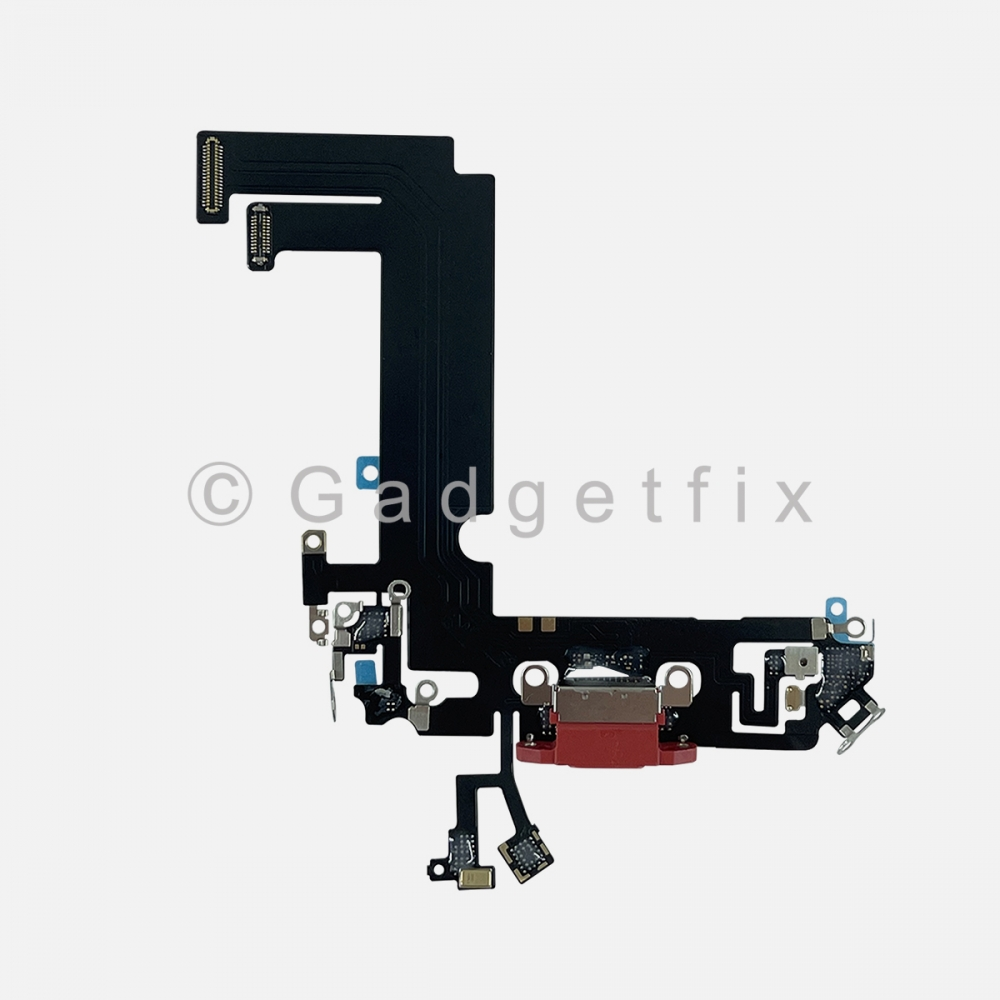 Red Charging Port Dock Connector Flex Cable Charger  For Iphone 12 Mini