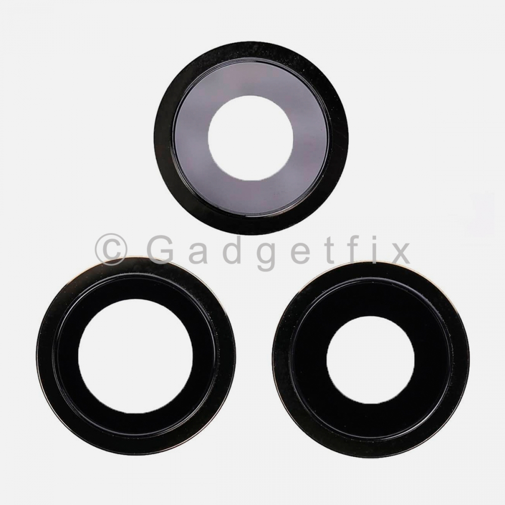 Graphite Back Camera Lens w/ Bracket For Iphone 12 Pro