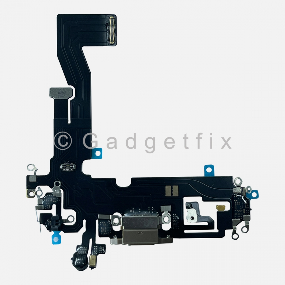 Gold Lightning Charger Charging Port Dock Connector Flex Cable For iPhone 12 PRO