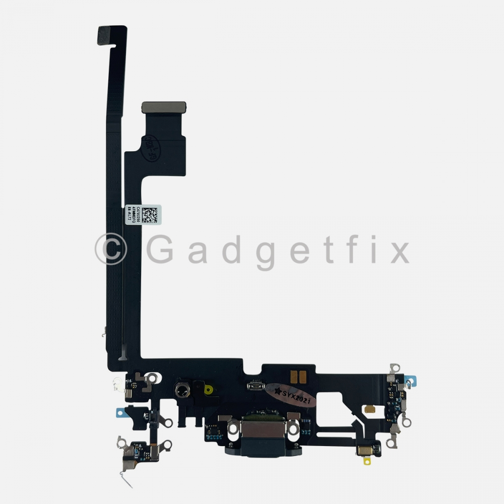Pacific Blue Lightning Charger Charging Port Dock Connector Flex Cable For iPhone 12 PRO MAX