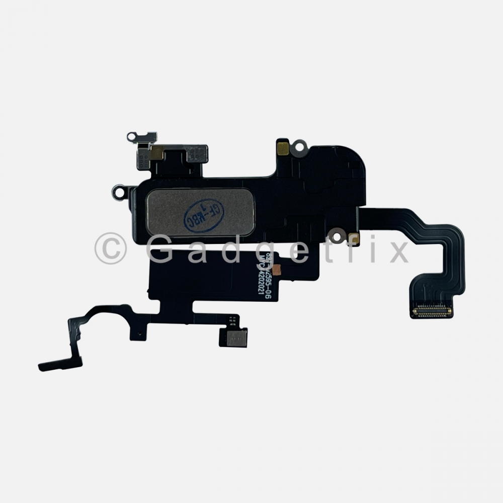 Earpiece Ear Speaker with Proximity Light Sensor Flex Cable For iPhone 12 Pro Max