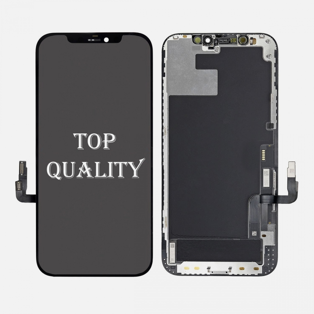 OLED Display LCD Touch Screen Digitizer + Frame For Iphone 12 | 12 Pro (Top Quality)