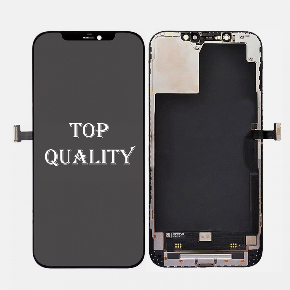 Iphone 12 Pro Max OLED Display Touch Screen Digitizer + Frame (Top Quality)