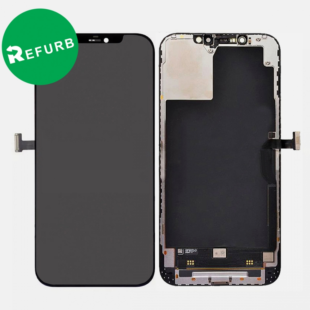 Refurbished Iphone 12 Pro Max OLED Display Touch Screen Digitizer + Frame