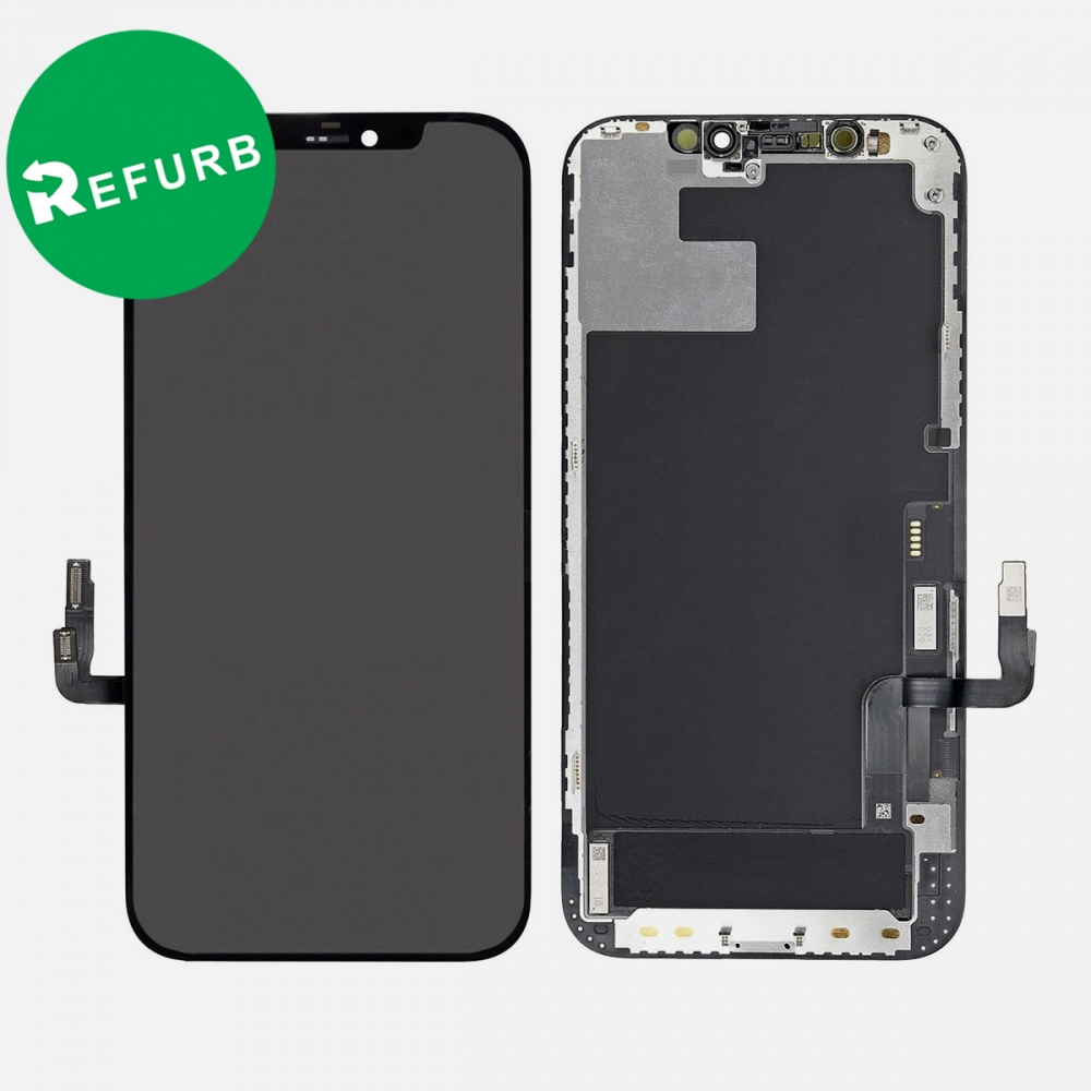 Refurbished OLED Display LCD Touch Screen Digitizer + Frame For Iphone 12 | 12 Pro
