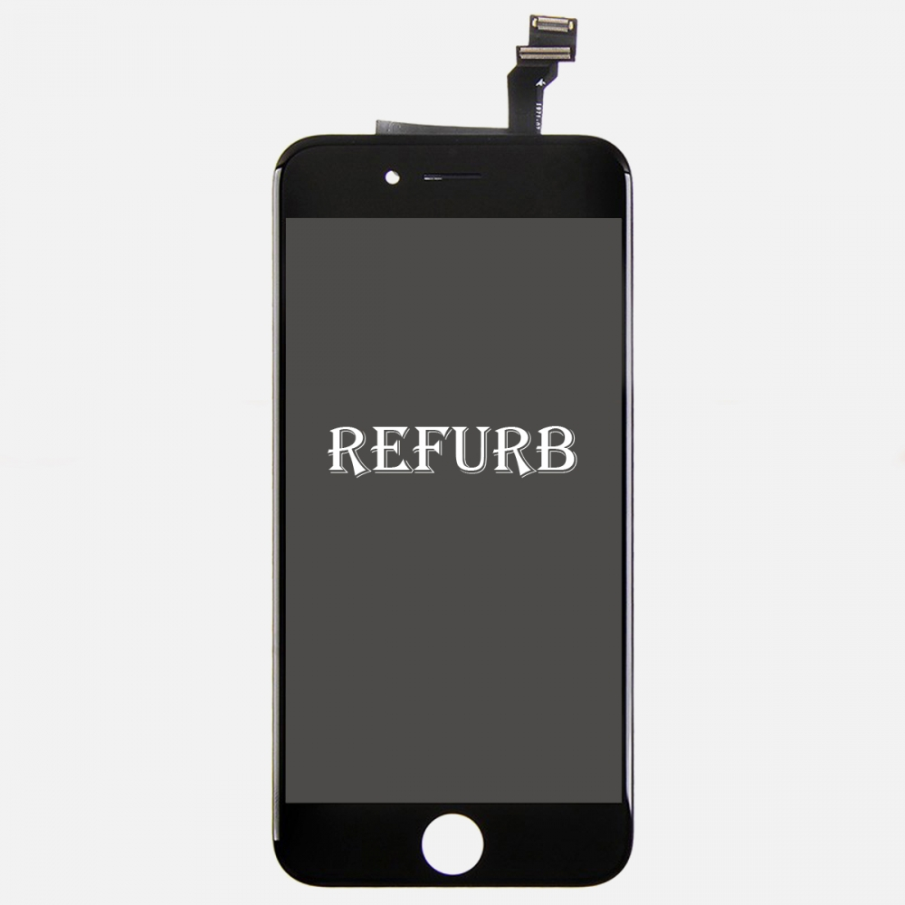 Refurbished Black LCD Display Touch Digitizer Screen Assembly for iphone 6