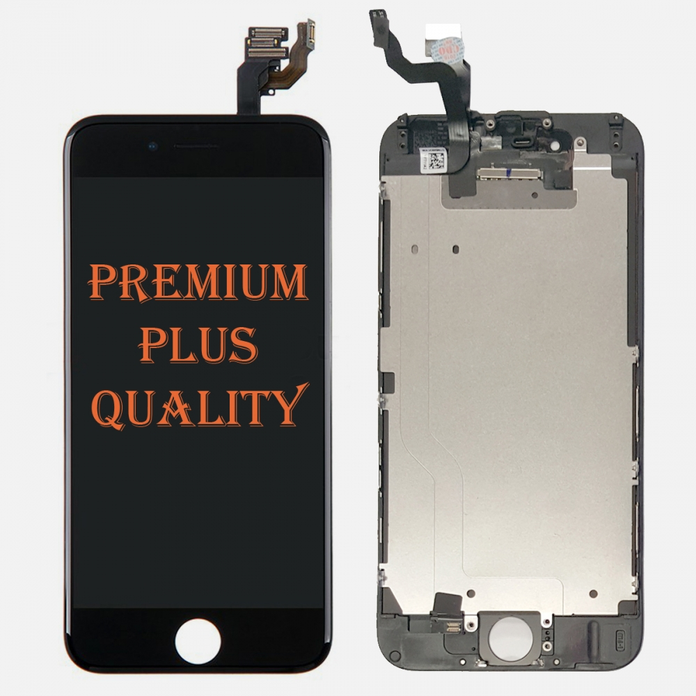 (Premium Plus Quality) Black LCD Display Touch Digitizer Screen for iphone 6