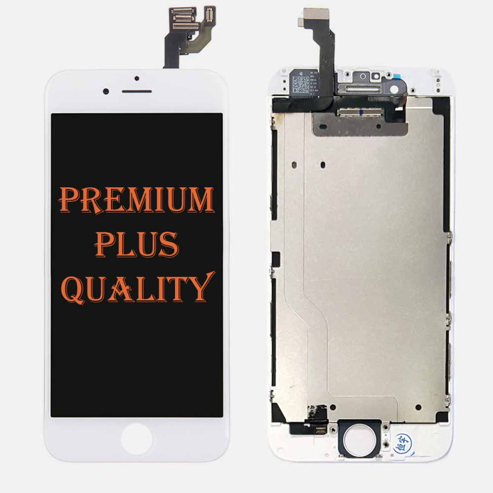 (Premium Plus Quality) White LCD Display Touch Digitizer Screen for iphone 6