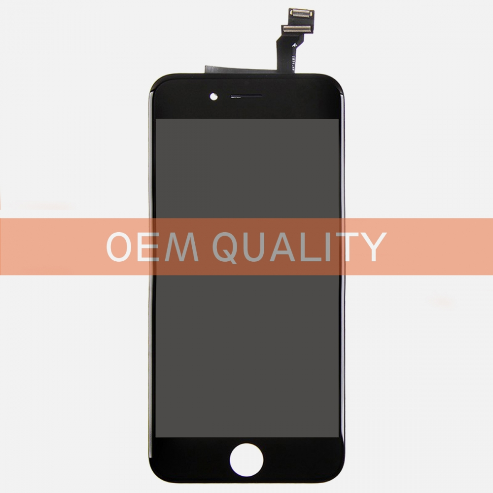 OEM Original Black LCD Display Touch Digitizer Screen Assembly for iphone 6
