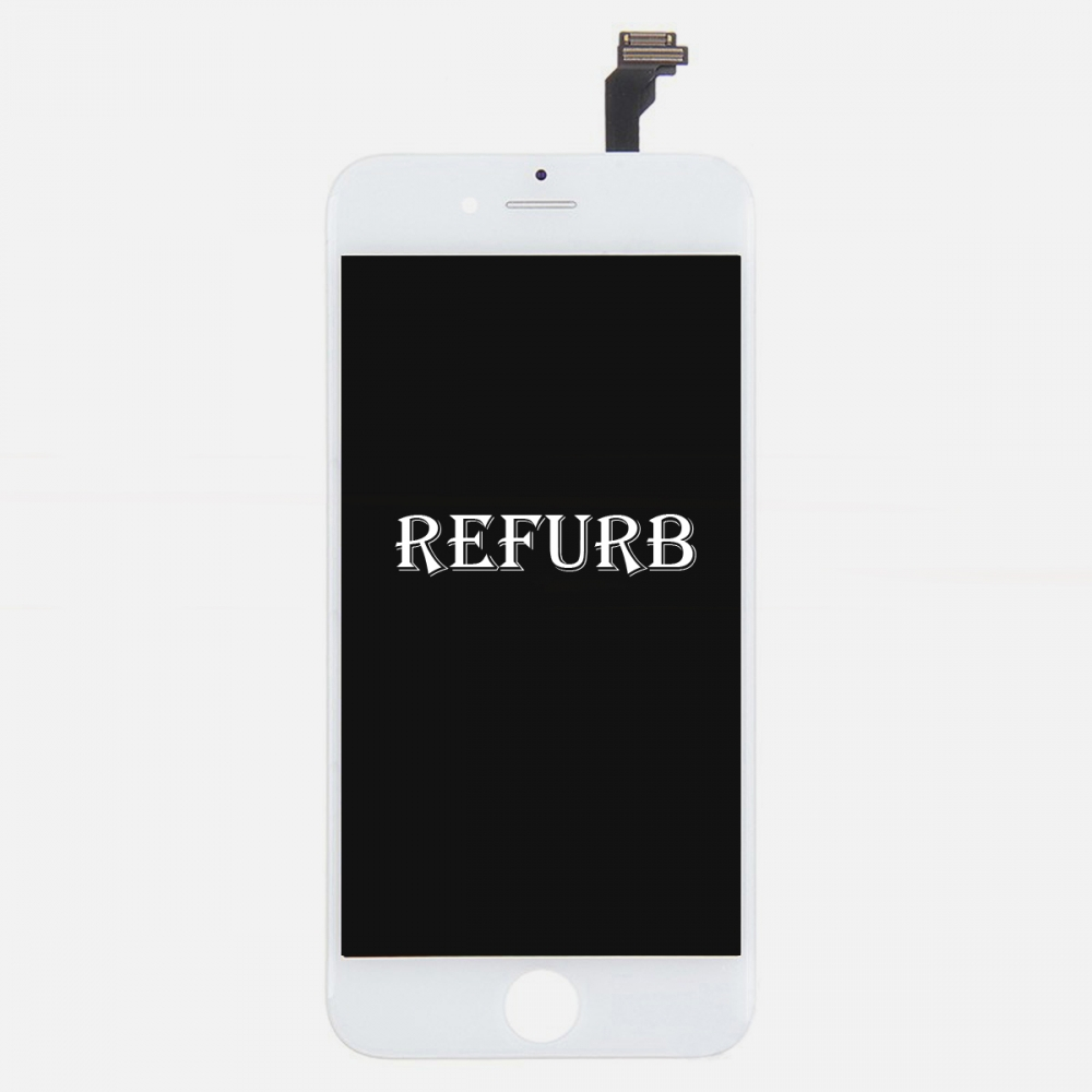 Refurbished White LCD Display Touch Digitizer Screen Assembly for iphone 6