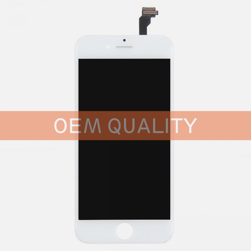OEM Original White LCD Display Touch Digitizer Screen Assembly for iphone 6