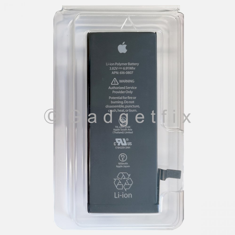 New Original OEM 661-04579 Battery + Adhesive For Apple Iphone 6 (In Box)