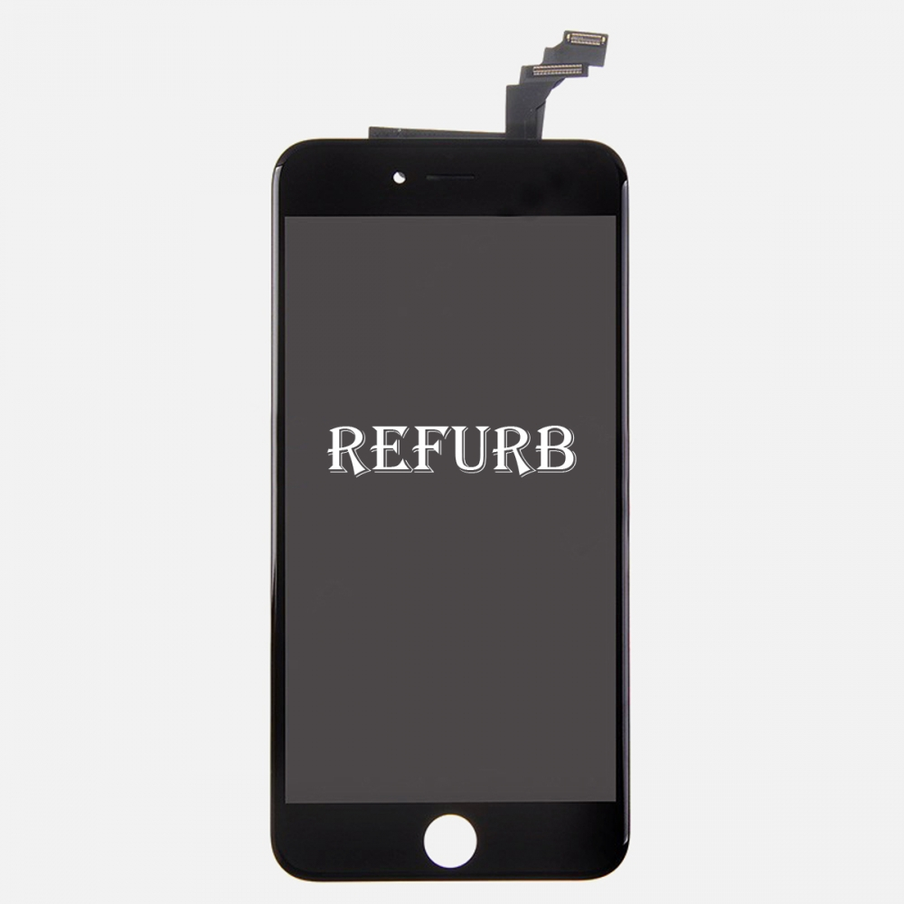 Refurbished Black LCD Display Touch Digitizer Screen Assembly for iphone 6 Plus