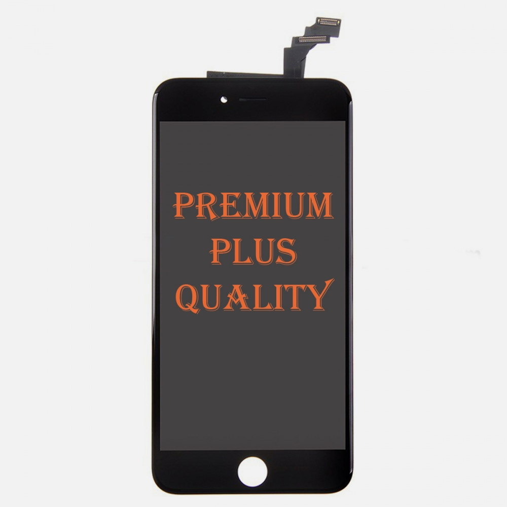 (Premium Plus Quality) Black LCD Display Touch Digitizer Screen for iphone 6 Plus