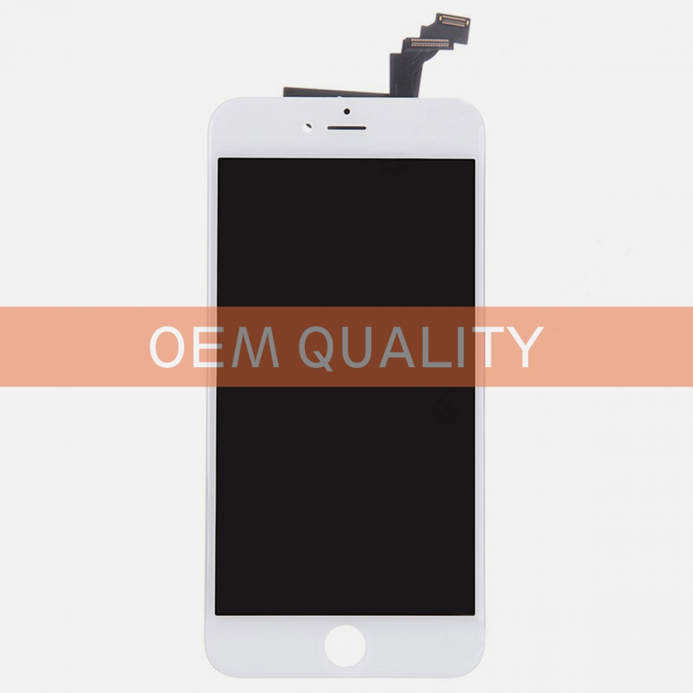 OEM Original White LCD Display Touch Digitizer Screen Assembly for iphone 6 Plus