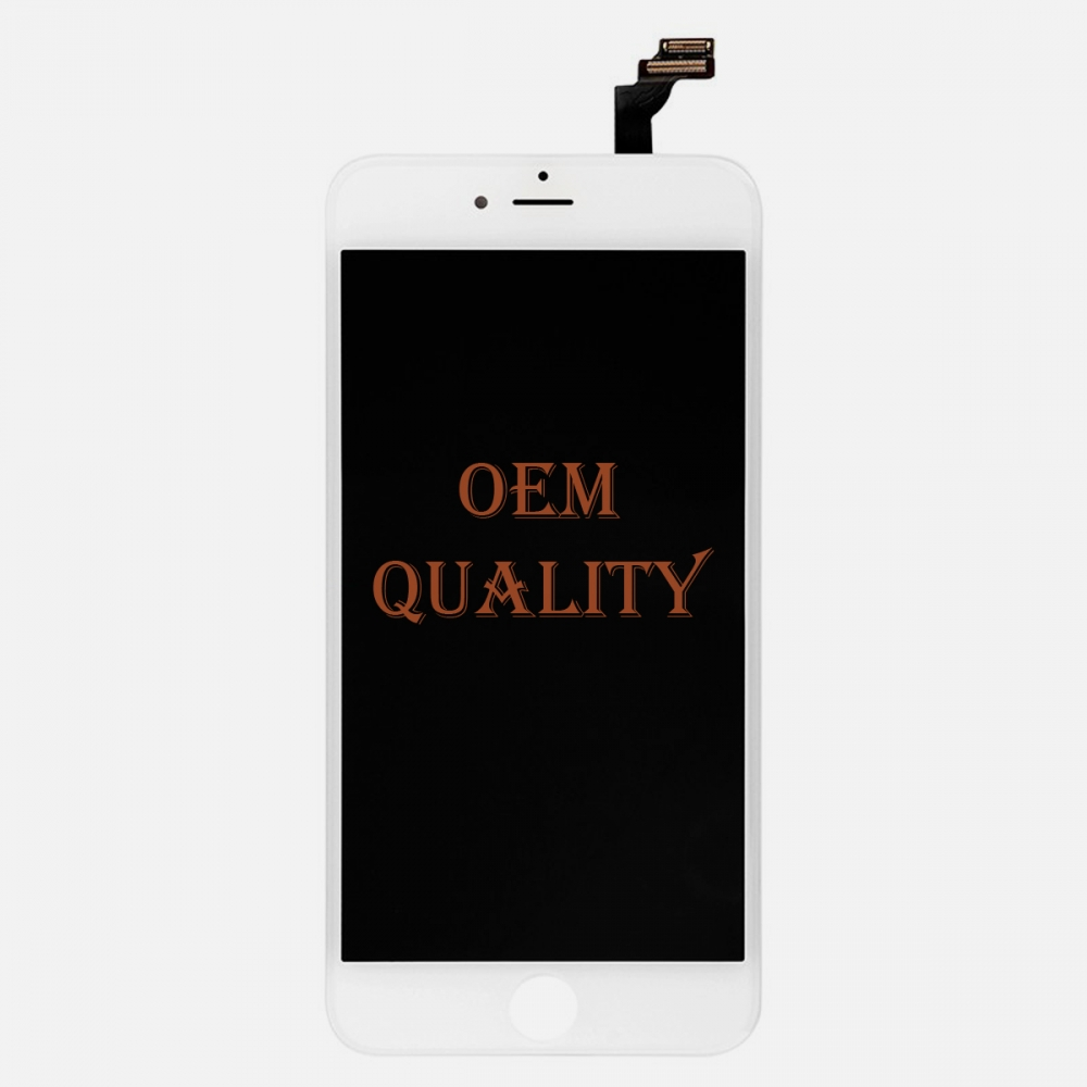 Top Quality White LCD Display Touch Digitizer Screen Assembly for iphone 6 Plus