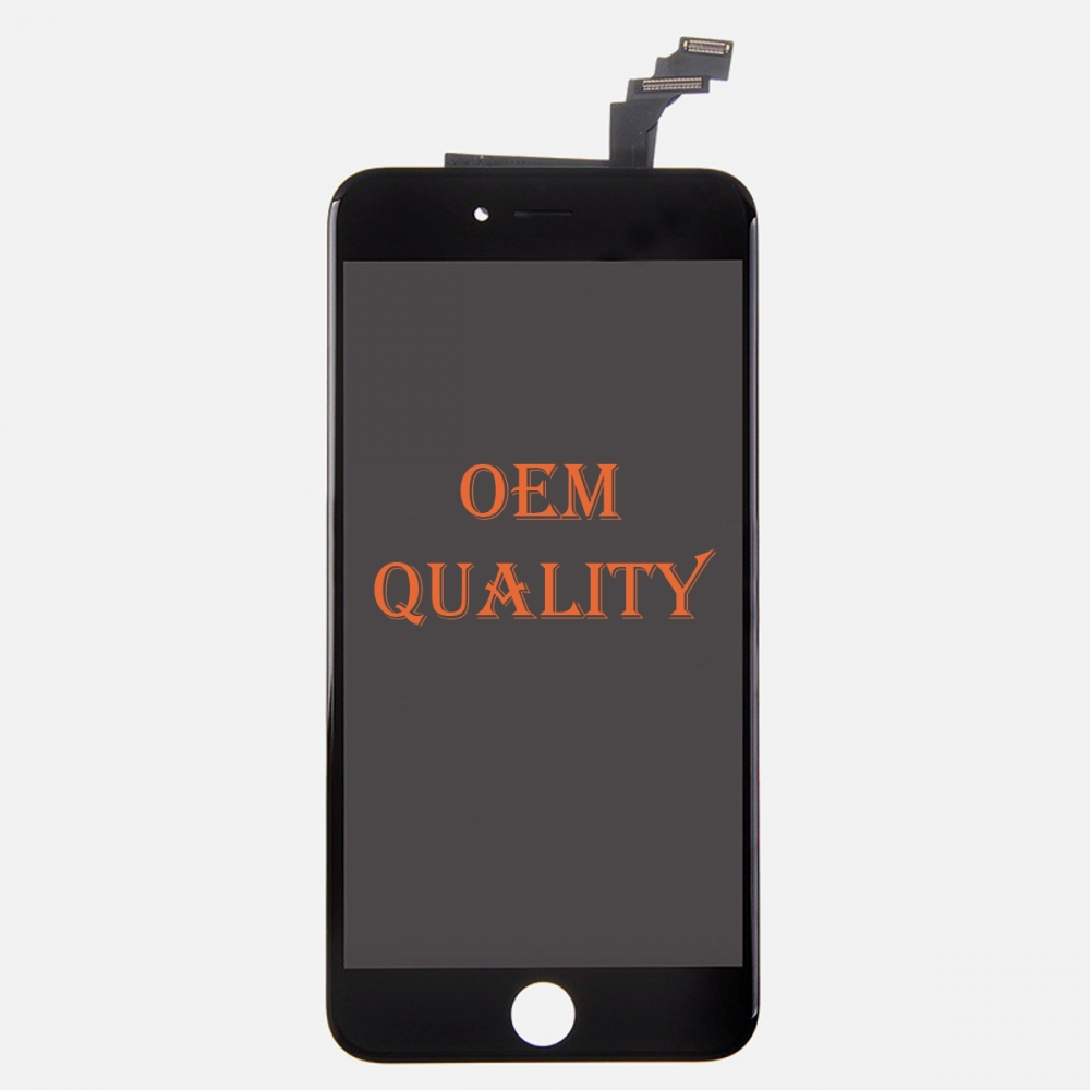 OEM Original Black LCD Display Touch Digitizer Screen Assembly for iphone 6 Plus