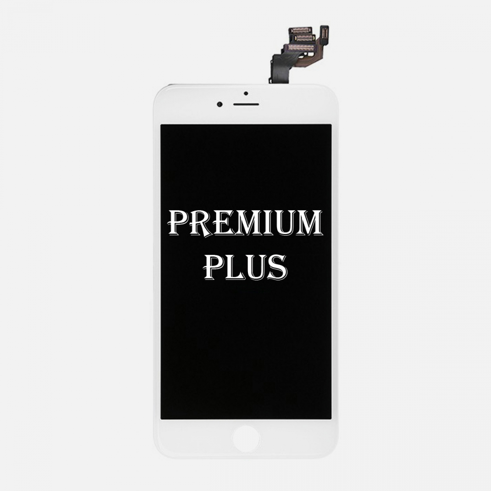 (Premium Plus Quality) White LCD Display Touch Digitizer Screen for iphone 6 Plus