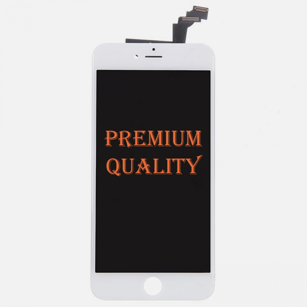 (Premium Quality) White LCD Display Touch Screen Digitizer For iPhone 6 Plus