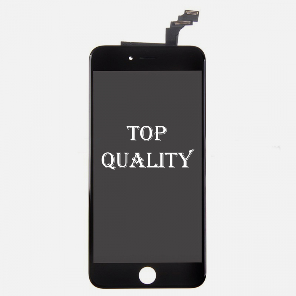 Top Quality Black LCD Display Touch Digitizer Screen Assembly for iphone 6 Plus
