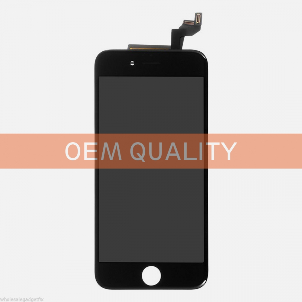 OEM Original Black LCD Display Touch Digitizer Screen Assembly for iphone 6S