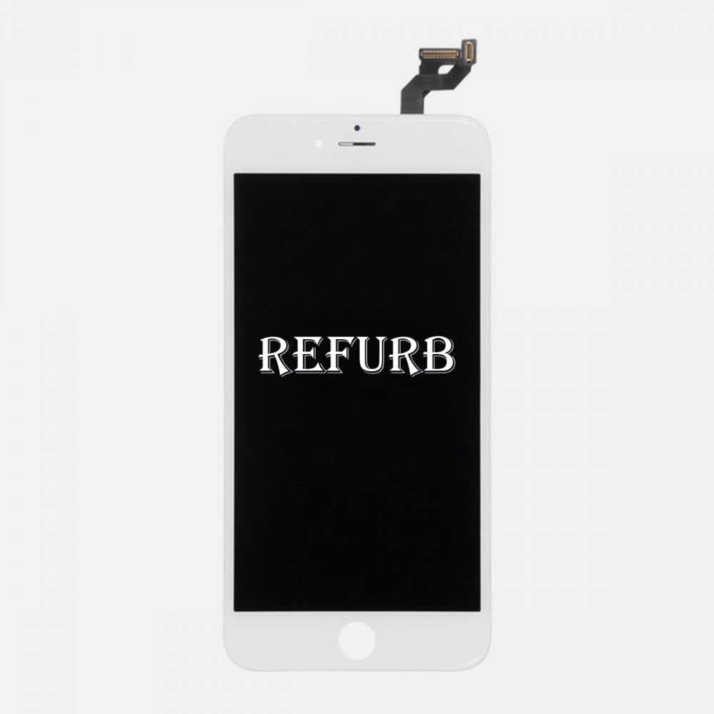 Refurbished White LCD Display Touch Digitizer Screen Assembly for iphone 6S Plus