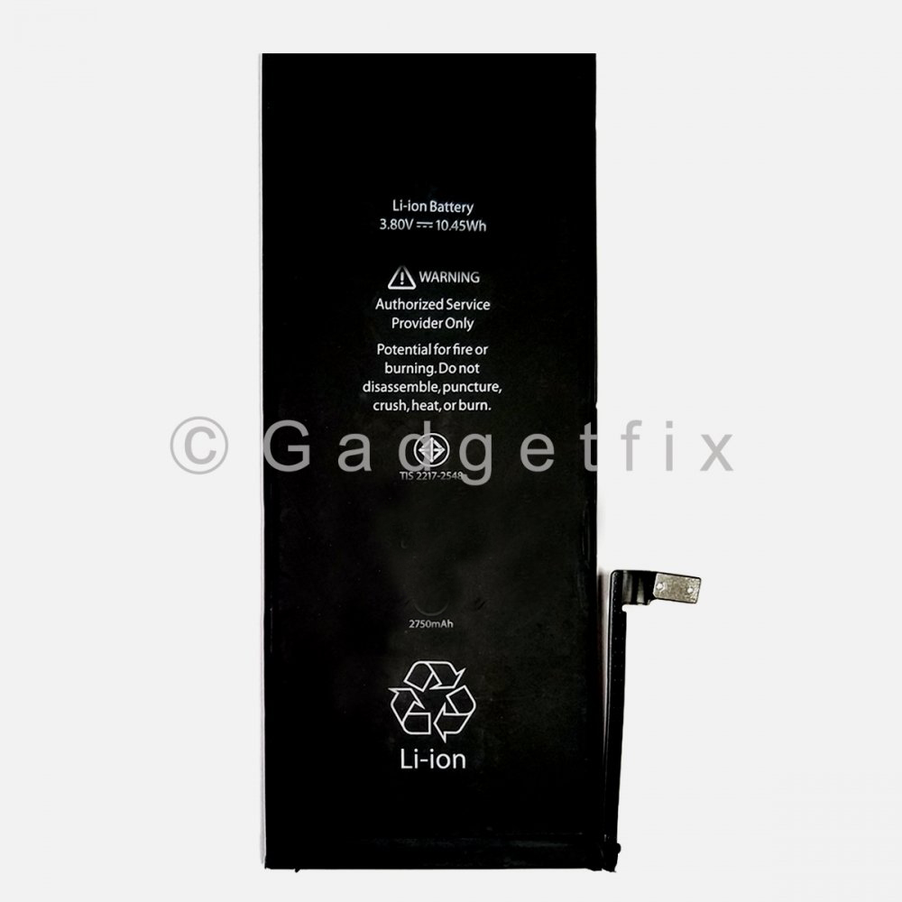 New 2750mAh Li-ion Battery Flex Cable Replacement Parts For iPhone 6S Plus