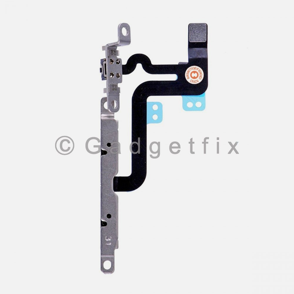 Volume and Mute Buttons Flex Cable with Bracket for iPhone 6S Plus