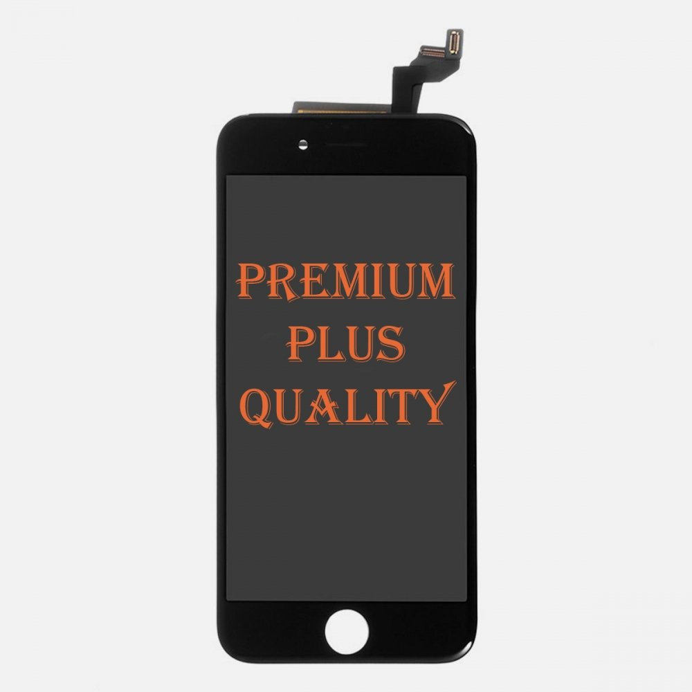 (Premium Plus Quality) Black LCD Display Touch Digitizer Screen for iphone 6S