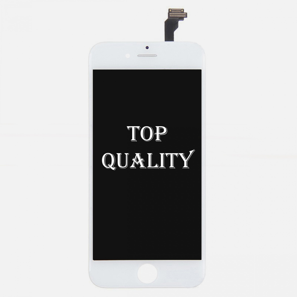 Top Quality White LCD Display Touch Digitizer Screen Assembly for iphone 6