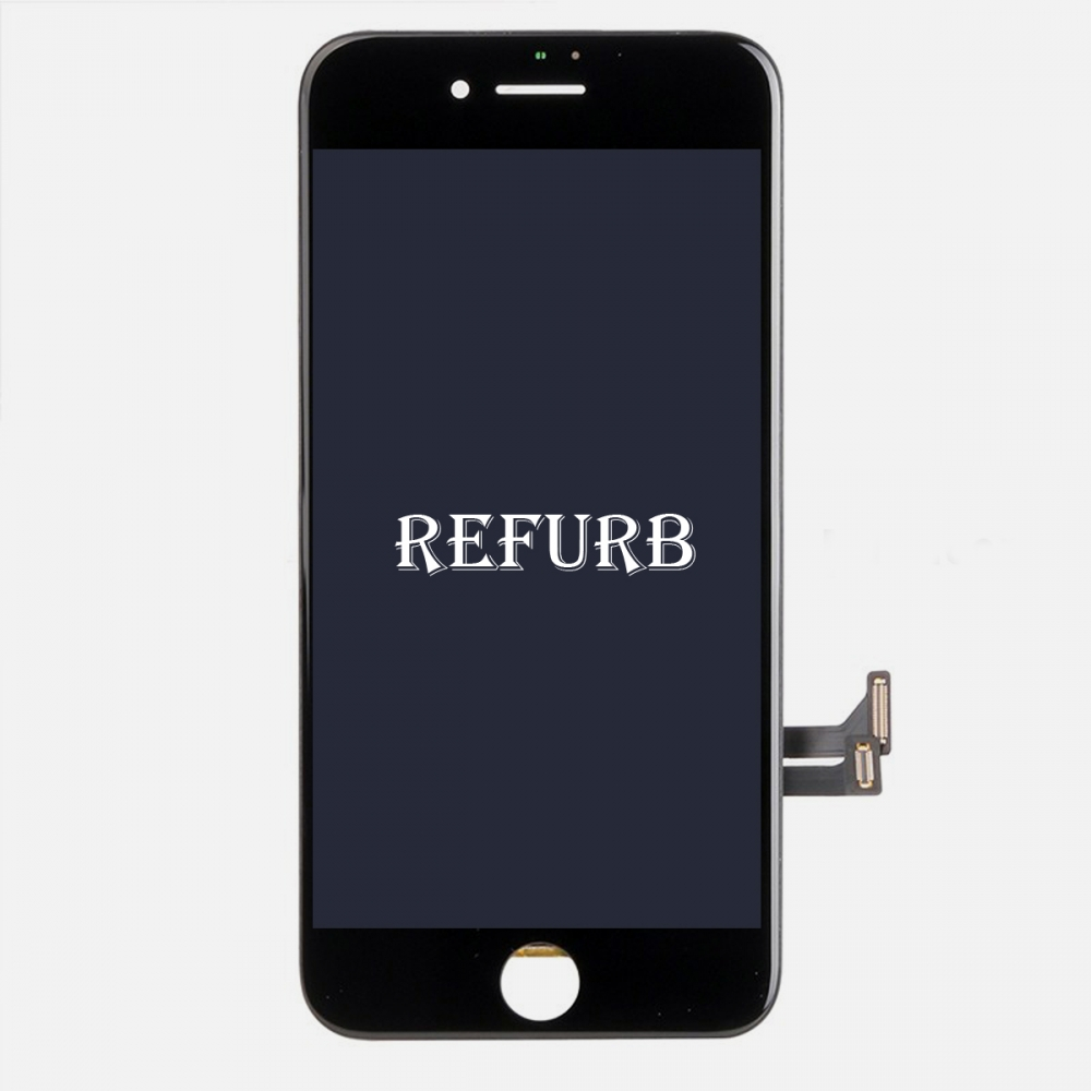 Refurbished Black LCD Display Touch Digitizer Screen Assembly for iphone 7