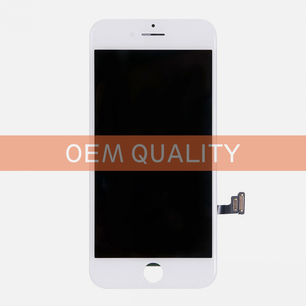 OEM Original White LCD Display Touch Digitizer Screen Assembly for iphone 7