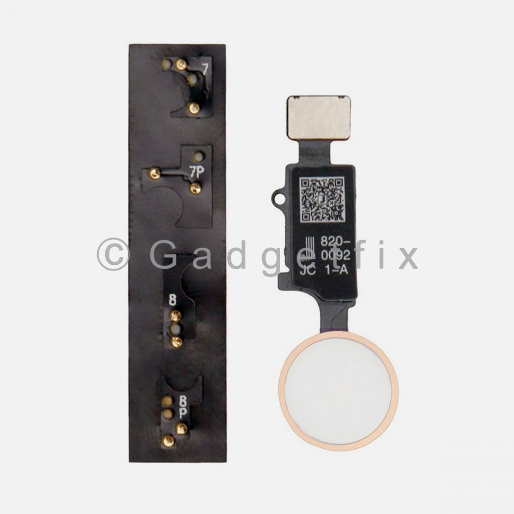 JC Universal Home Button Flex Cable + Return Function For Iphone 7 | 8 | 7 Plus | 8 Plus Rose Gold