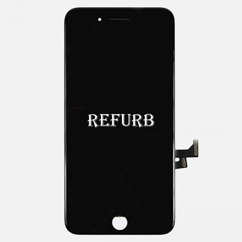 Refurbished Black LCD Display Touch Digitizer Screen Assembly for iphone 7 Plus