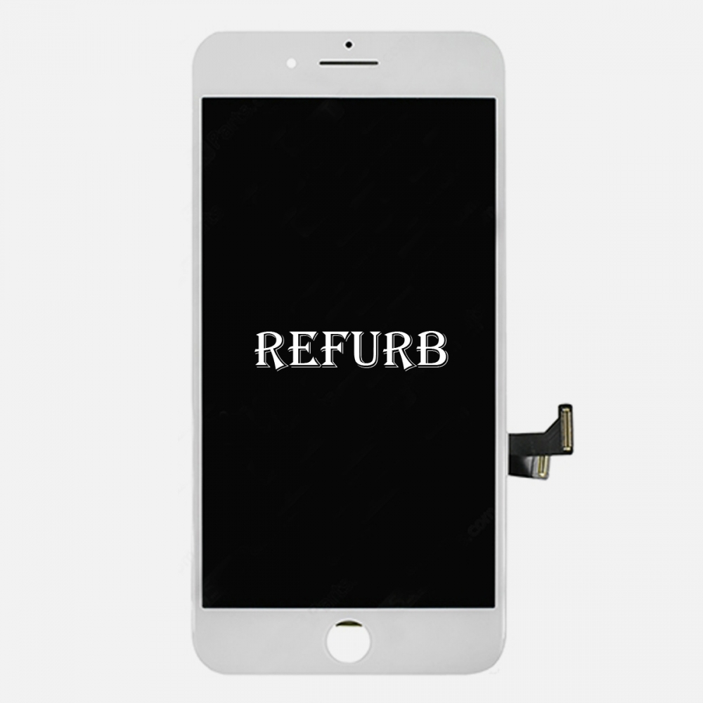 Refurbished White LCD Display Touch Digitizer Screen Assembly for iphone 7 Plus