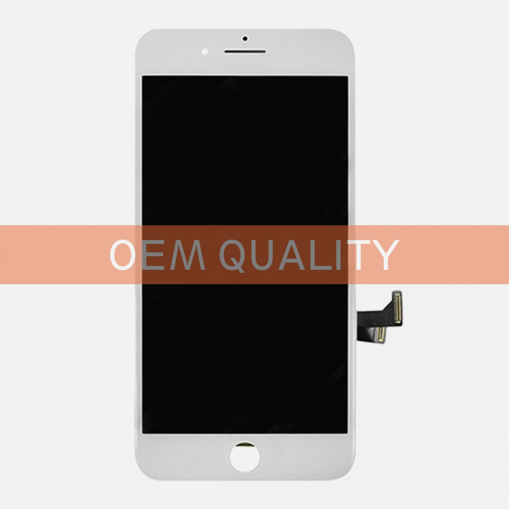 OEM Original White LCD Display Touch Digitizer Screen Assembly for iphone 7 Plus