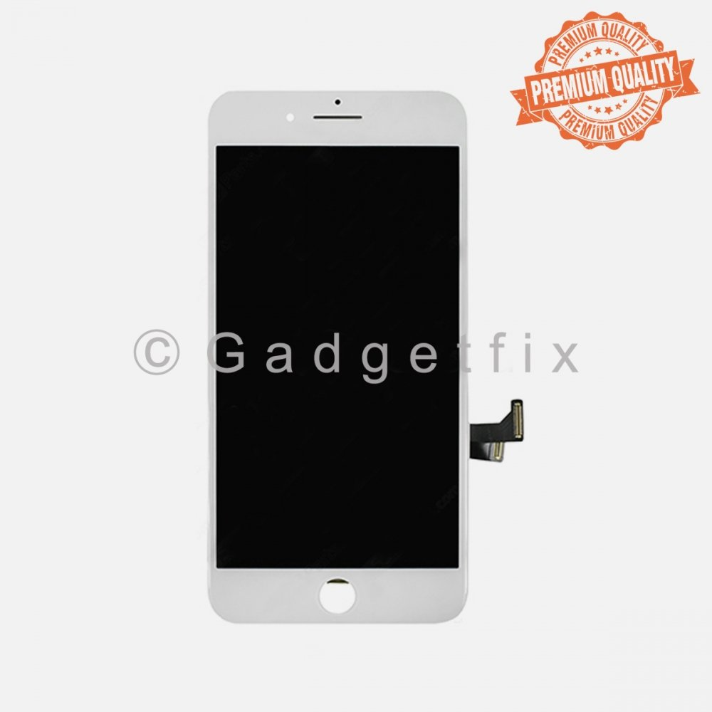 (Premium Quality) White LCD Touch Screen Digitizer For iPhone 7 Plus