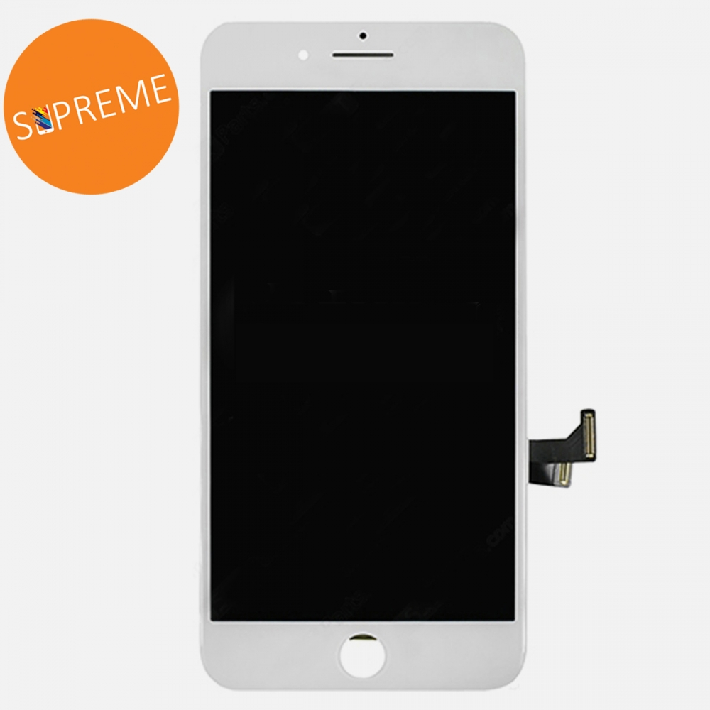 Supreme White LCD Display Touch Digitizer Screen for + Steel Plate iphone 7 Plus