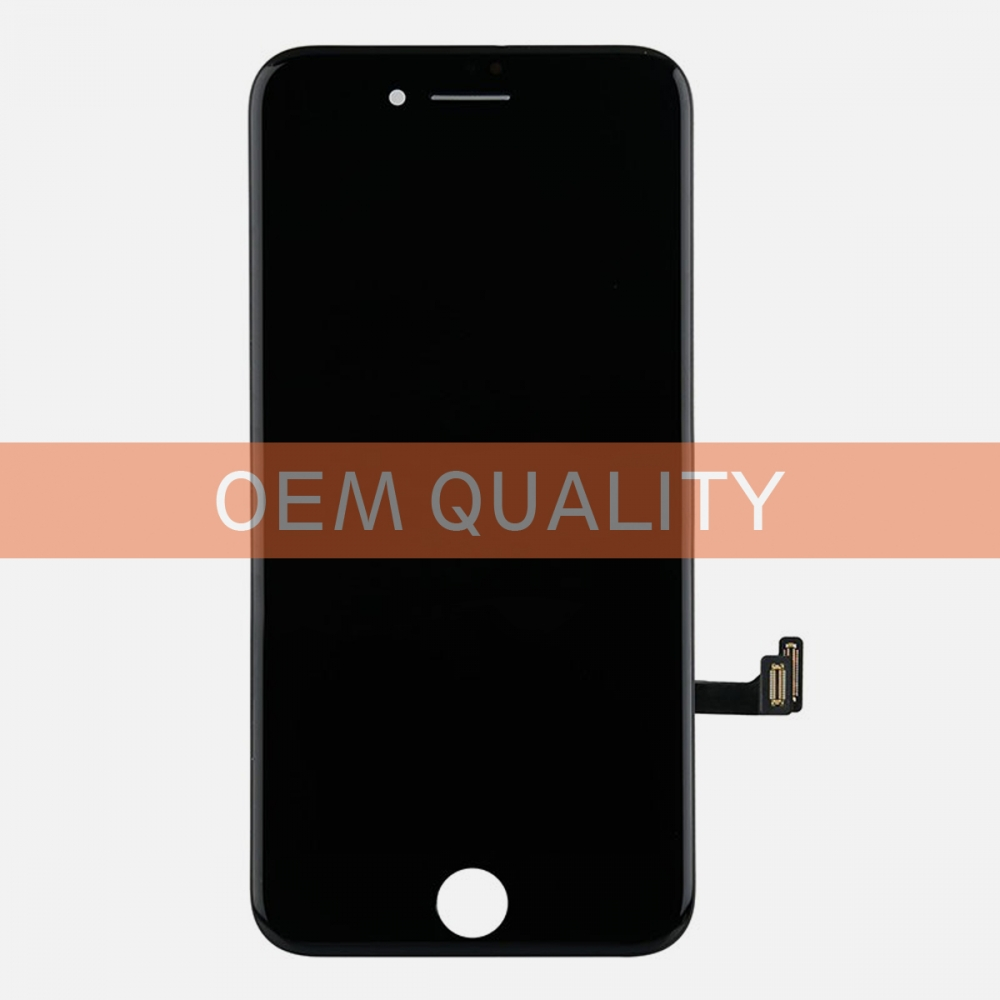 OEM Original Black LCD Display Touch Digitizer Screen Assembly for iphone 8
