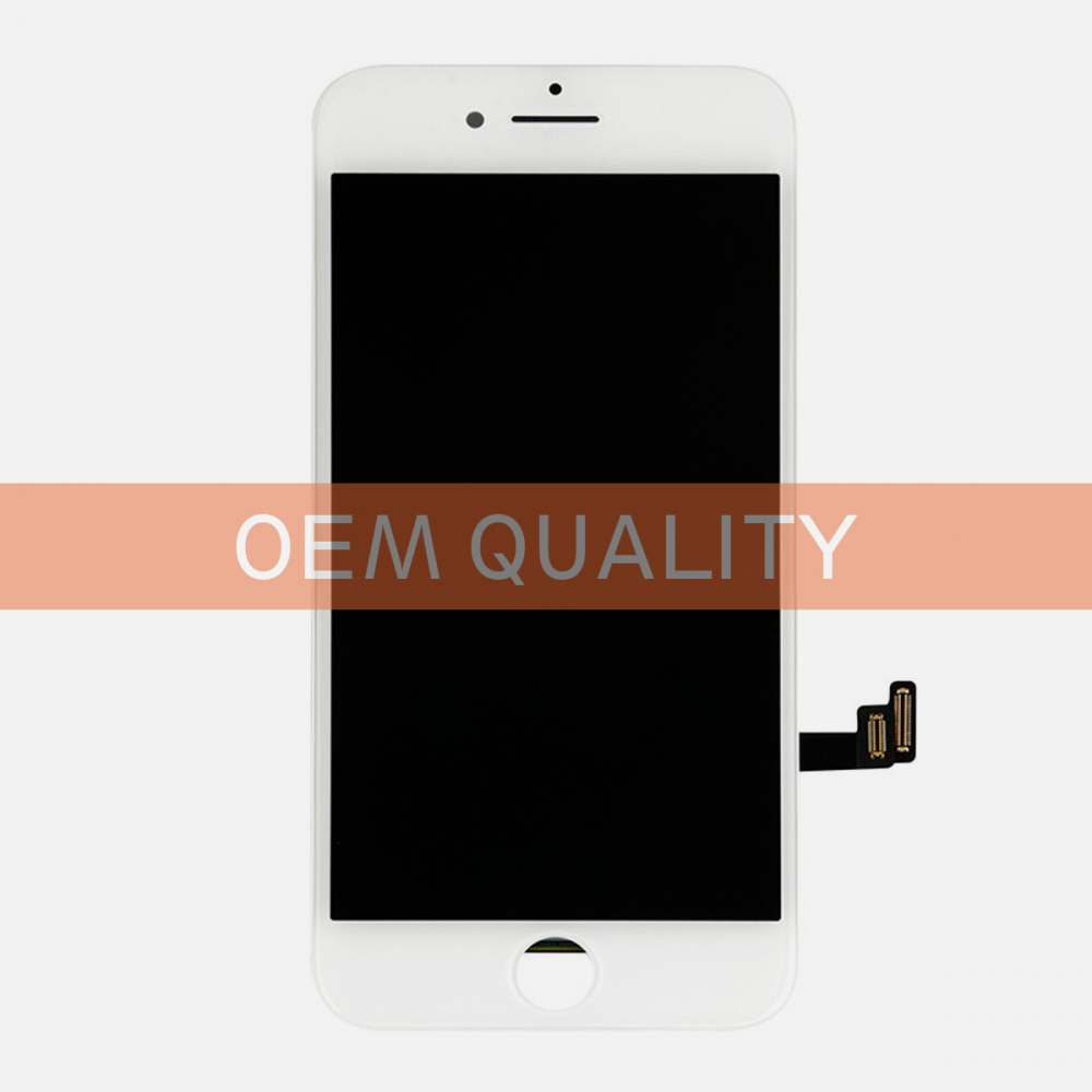 OEM Original White LCD Display Touch Digitizer Screen Assembly for iphone 8