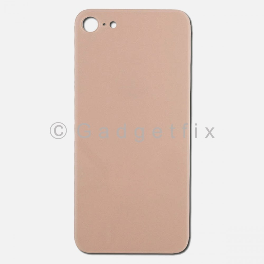 Rose Gold Rear Back Cover Battery Door Glass For Iphone 8
