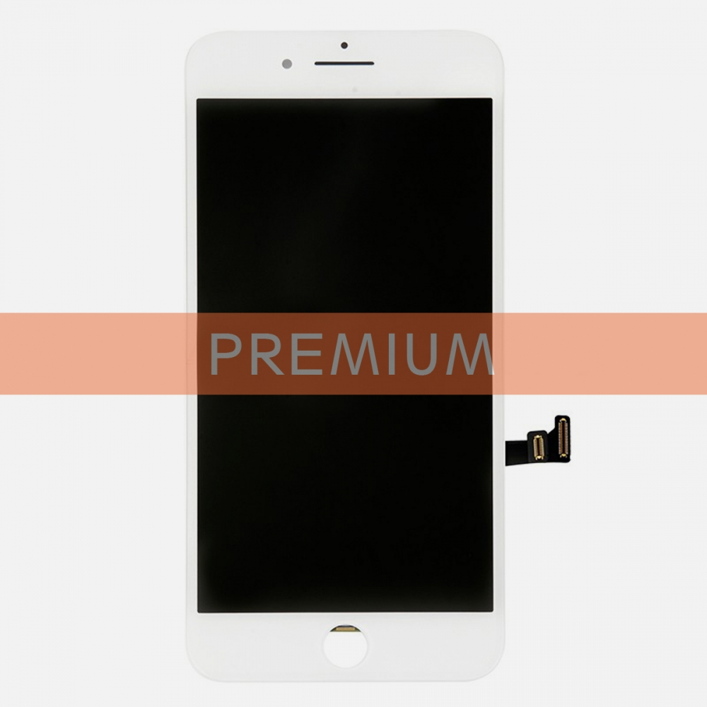 (Premium Quality) White Display LCD Touch Screen Digitizer For iPhone 8 Plus