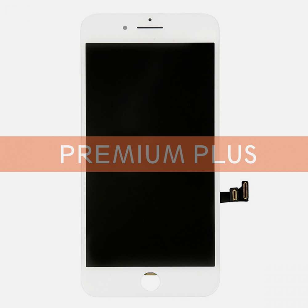 (Premium Plus Quality) White LCD Display Touch Digitizer Screen for iphone 8 Plus