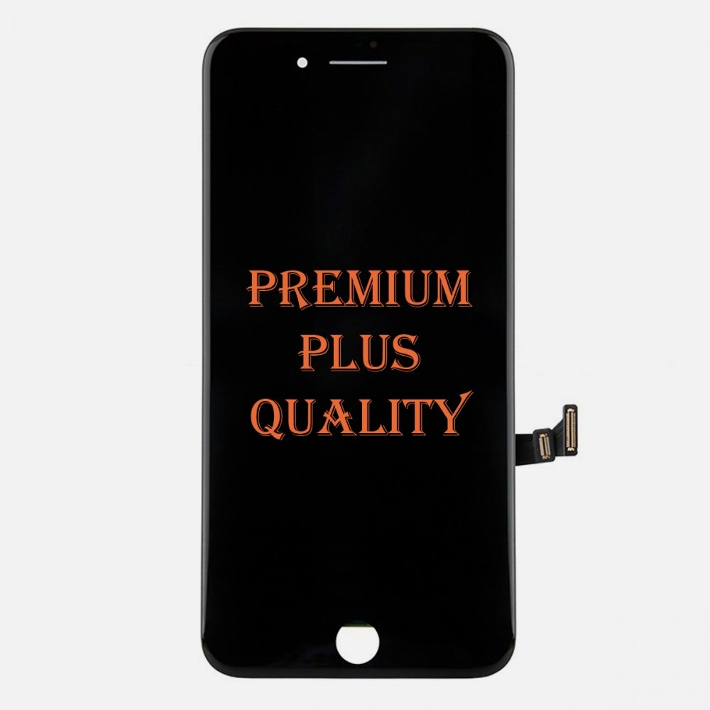 (Premium Plus Quality) Black LCD Display Touch Digitizer Screen for iphone 8 Plus