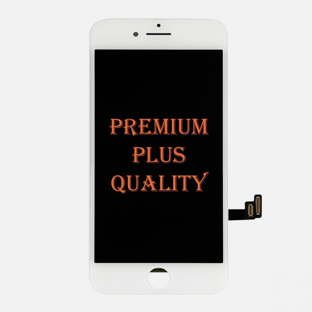 (Premium Plus Quality) White LCD Display Touch Digitizer Screen for iphone 8