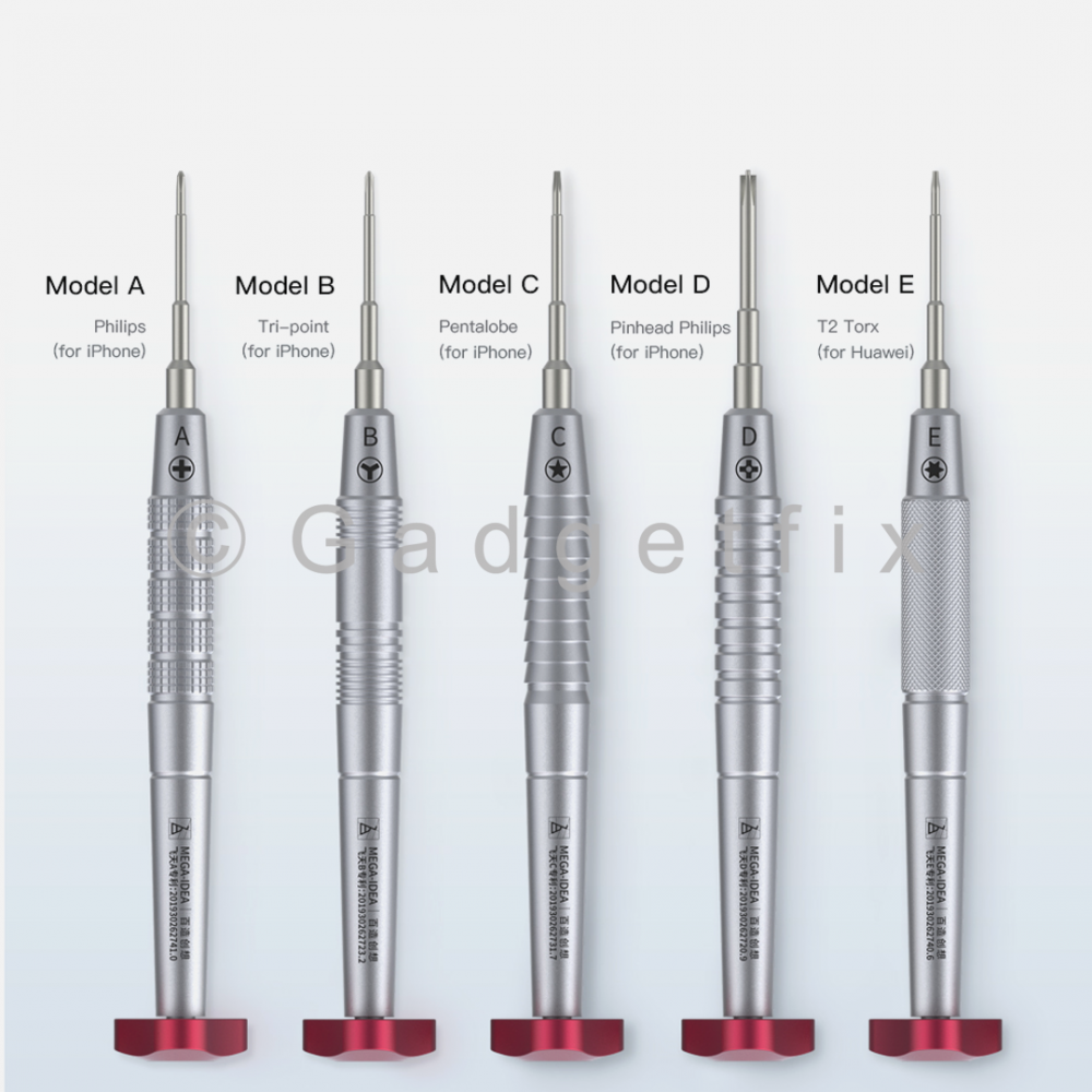 QianLi ToolPlus iFlying 2D Precision Screwdriver Complete Set of 5