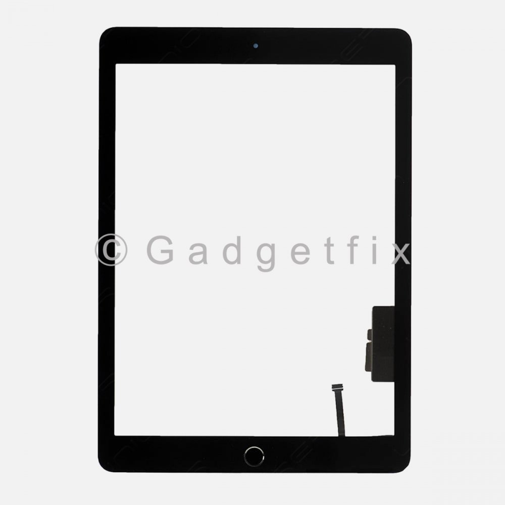 Touch Screen Digitizer + Button for 2018 iPad 6 6th Gen Generation A1893 A1954