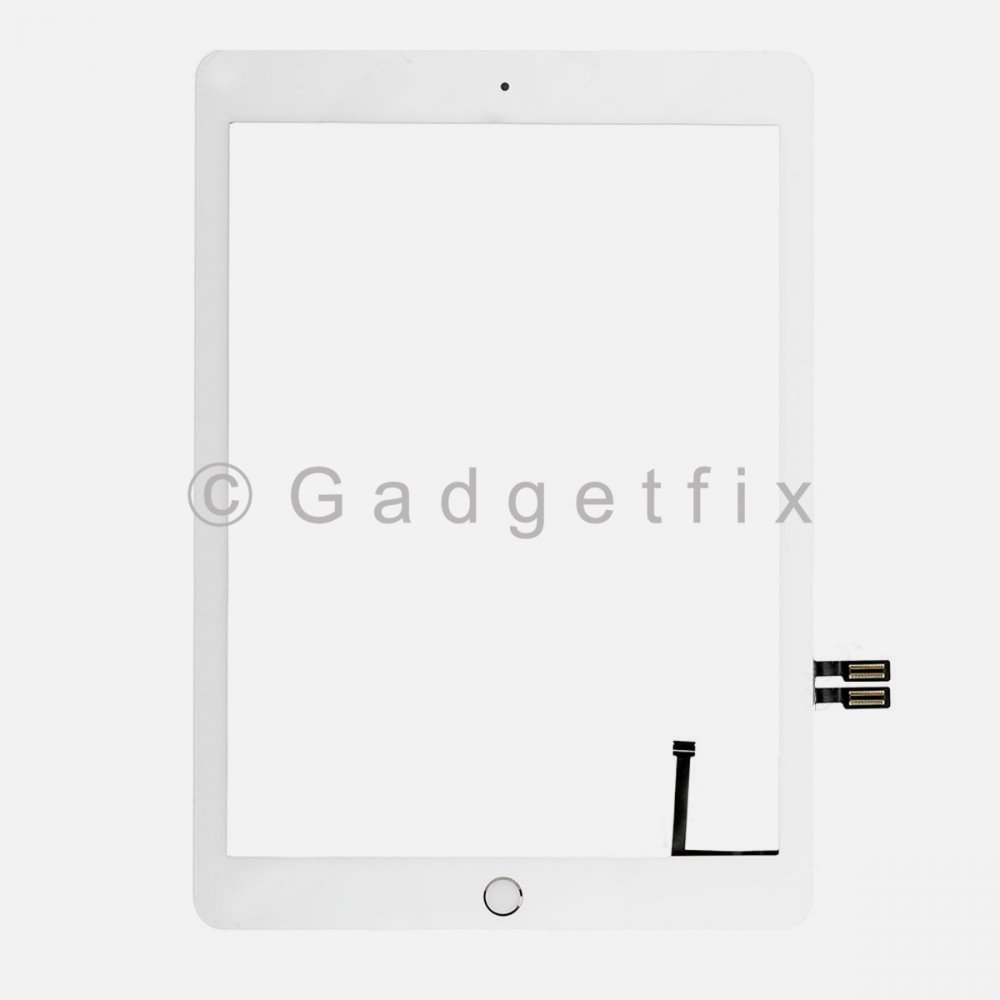 White Touch Screen Digitizer + Button for 2018 iPad 6 6th Gen Generation A1893 A1954