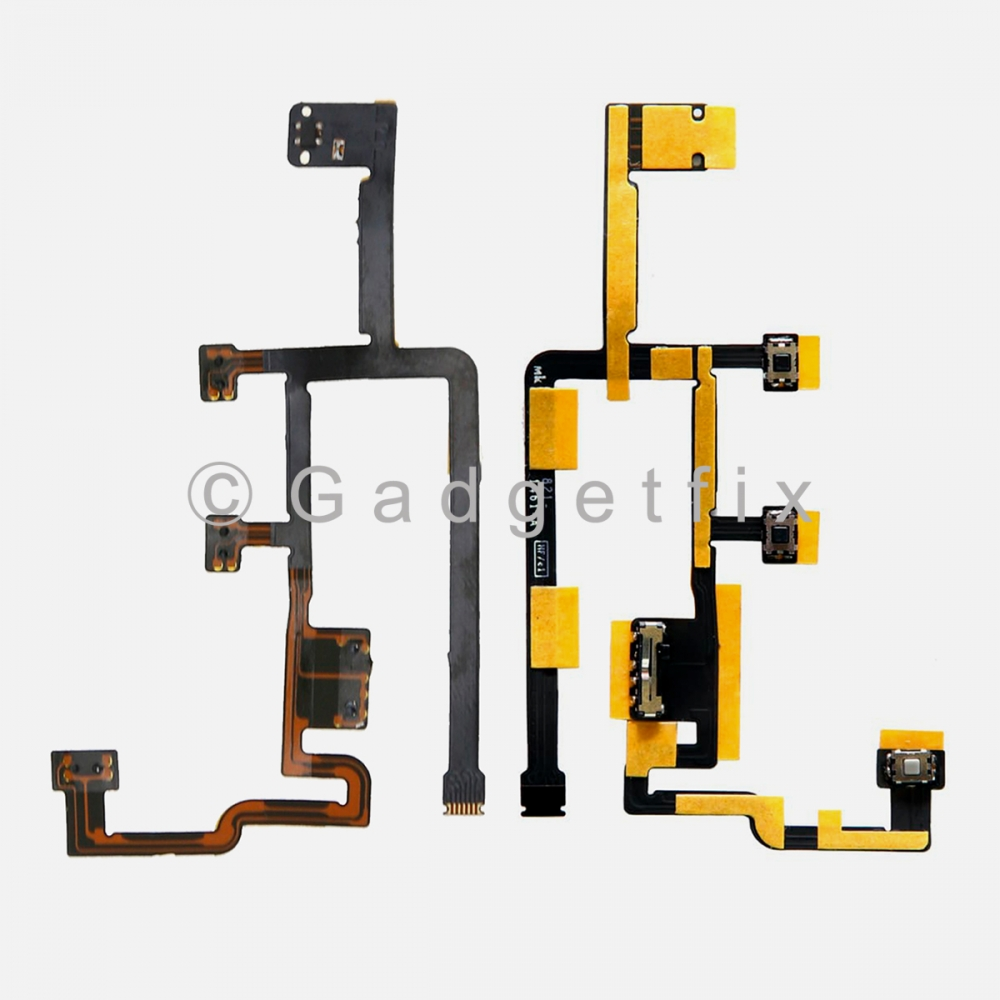 Power On Off Volume Control Connector Flex Cable for iPad 2 (2012 Version: EMC 2560)