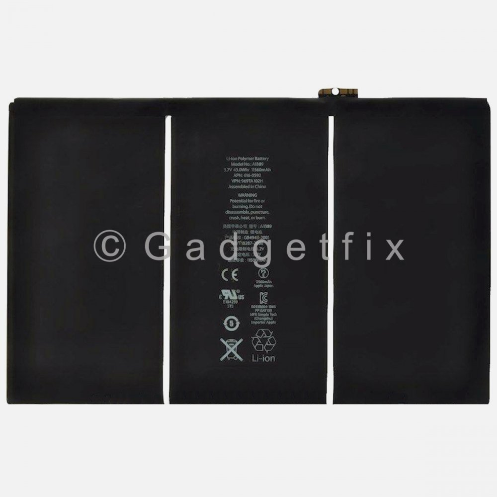 iPad 3 3rd Generation Battery Replacement Part A1416 A1430 A1403